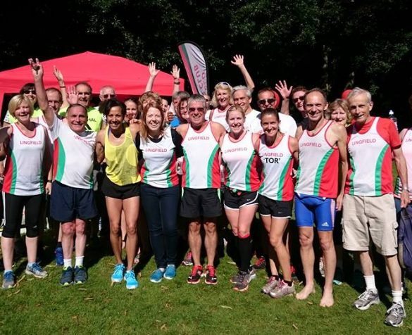 Members of Lingfield Running Club